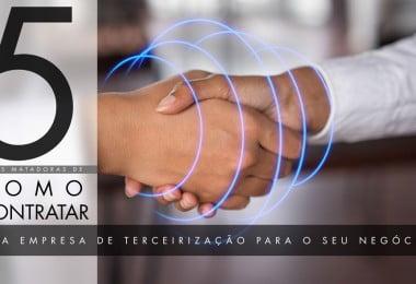 CONTRATAR UMA EMPRESA DE TERCEIRIZAÇÃO
